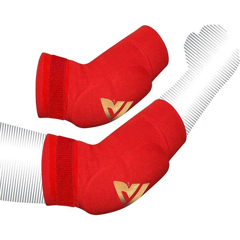 RDX Elástica Cotoveleira Protecção Moyenne Vermelho Meias