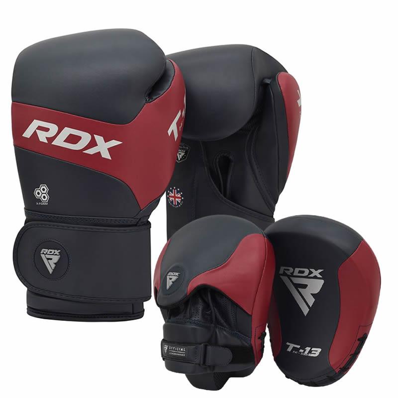 RDX T13 Guanti Da Boxe E Cuscinetti Di Messa A Fuoco