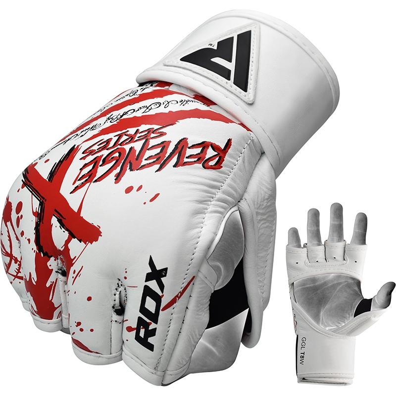 RDX_T8_Revenge_X_Extra_Large_White_MMA_Gloves