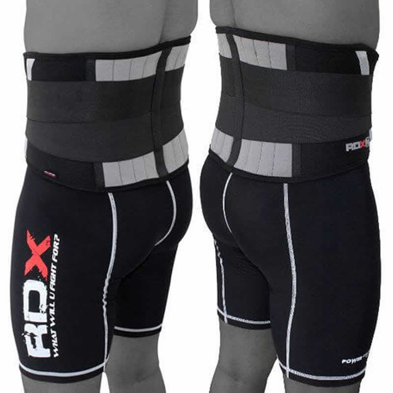 RDX X2 Rückenunterstützung Trainingsgurt M Schwarz