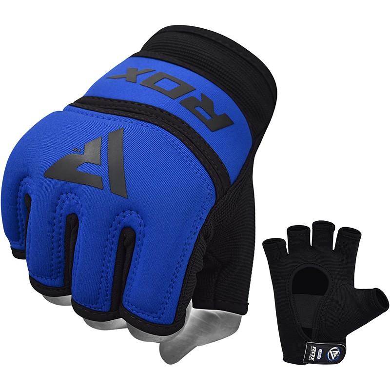 RDX X6 Gel Gepolsterte Innerer Boxhandschuhe M Blau