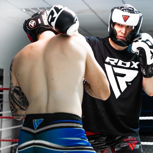 RDX Grill Testa Guardia Casco Boxing Arti Marziali Gear arti marziali miste protettore KICK ALLENAMENTO