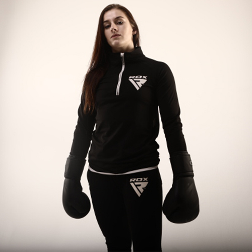 RDX Black Boxing Gloves for Women