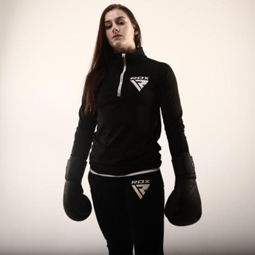 RDX Black Boxing Gloves for Women