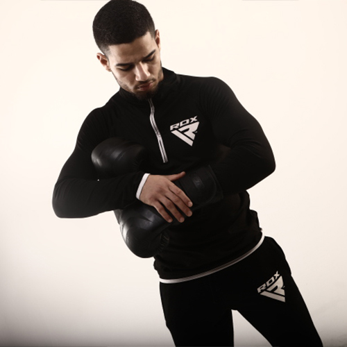 RDX Black Boxing Gloves for Men