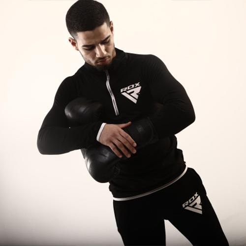 RDX Black Boxing Gloves for Men