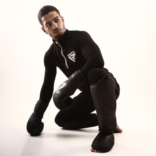 RDX Black Boxing Training Gloves