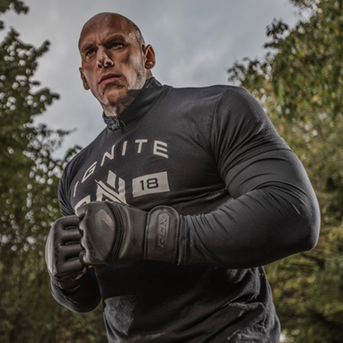 RDX Noir MMA Gloves
