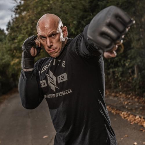 RDX Black MMA Grappling Gloves