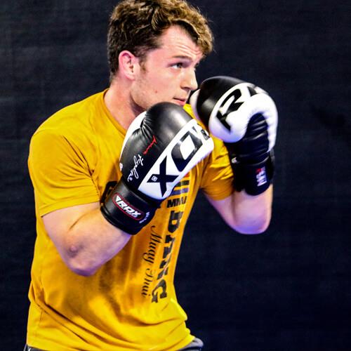 RDX S4 Black White Boxing Gloves