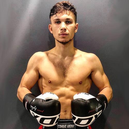 RDX S4 Boxing Gloves Black White
