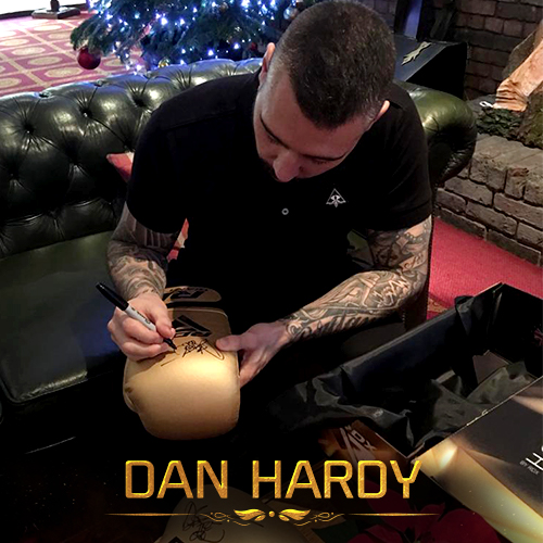 Dan Hardy RDX Sports Boxing Gloves