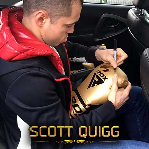 Scott Quigg RDX Sports Boxing Gloves