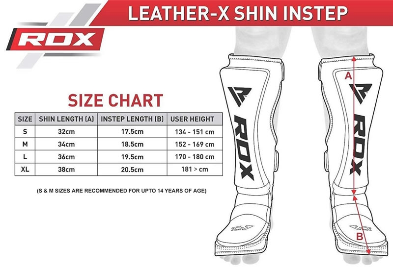 RDX Products Size Charts & Measurement Guide